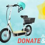 Donate Blood In June And You Will Be Automatically Entered In A Drawing To Win A New Razor EcoSmart Electric Scooter And Helmet.